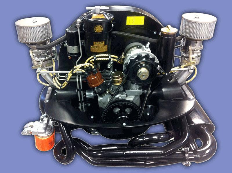 DYNO RESULTS: Kaddie Shack Vintage Air Cooled VW Parts